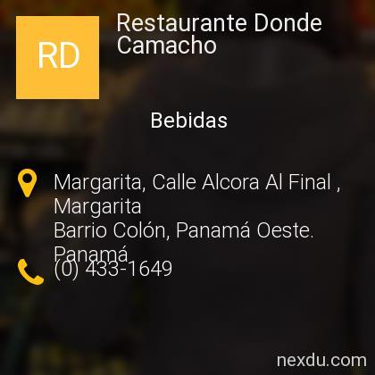 Restaurante Donde Camacho