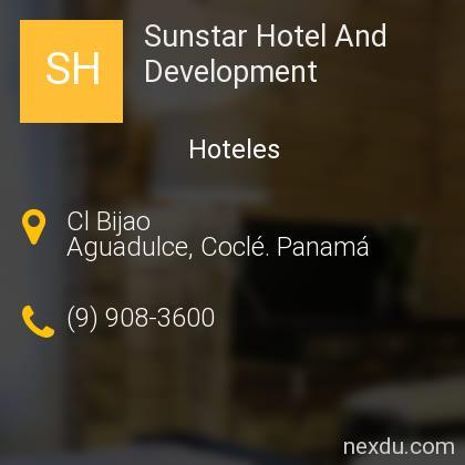 Sunstar Hotel And Development