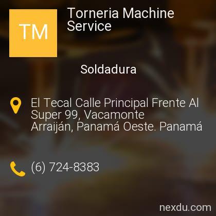 Torneria Machine Service