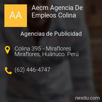 Aecm Agencia De Empleos Colina