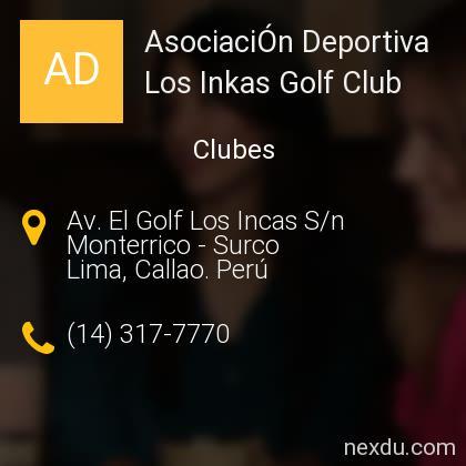 AsociaciÓn Deportiva Los Inkas Golf Club