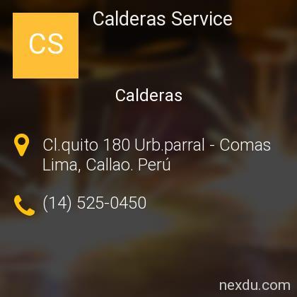 Calderas Service