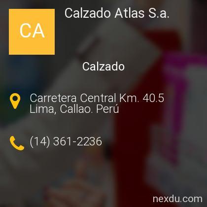 Calzado Atlas S.a.