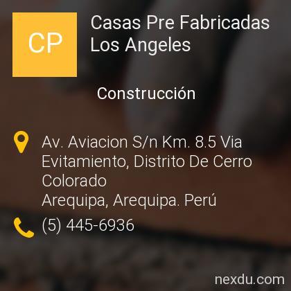 Casas Pre Fabricadas Los Angeles
