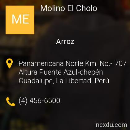 Molino El Cholo