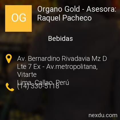 Organo Gold - Asesora: Raquel Pacheco