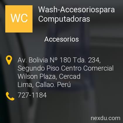 Wash-Accesoriospara Computadoras