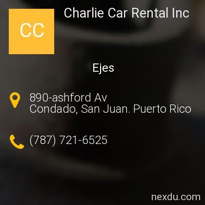 Charlie Car Rental Inc