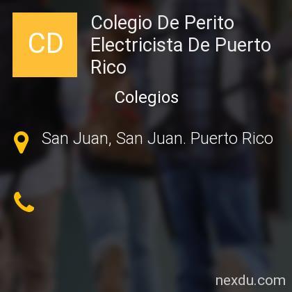 Colegio De Perito Electricista De Puerto Rico