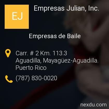 Empresas Julian, Inc.