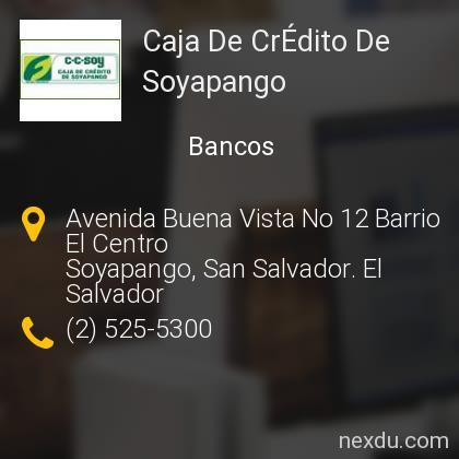 Caja De CrÉdito De Soyapango