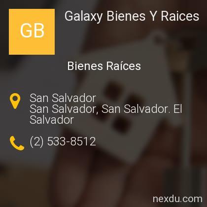 Galaxy Bienes Y Raices