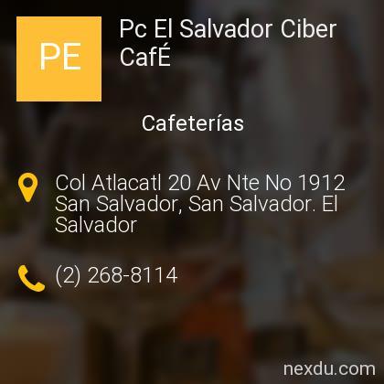 Pc El Salvador Ciber CafÉ