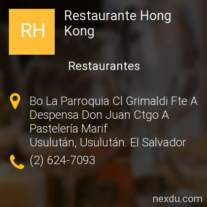 Restaurante Hong Kong