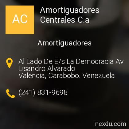 Amortiguadores Centrales C.a