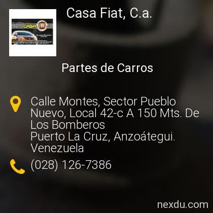 Casa Fiat, C.a.