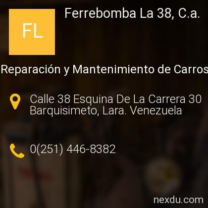 Ferrebomba La 38, C.a.
