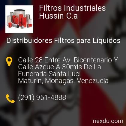 Filtros Industriales Hussin C.a