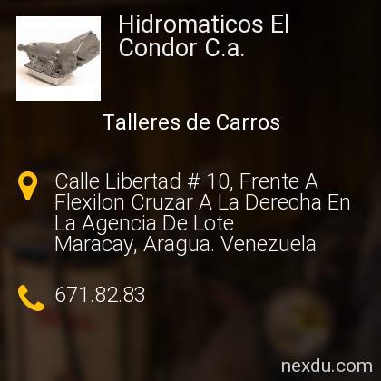 Hidromaticos El Condor C.a.