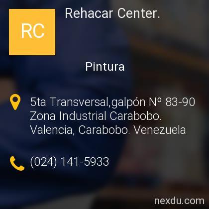 Rehacar Center.